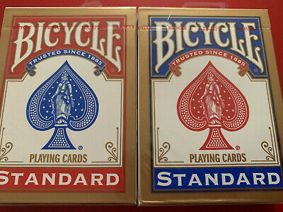 £4.89 • Buy 2 X Bicycle Playing Cards Decks 1 Red & 1 Blue