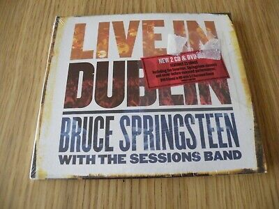 Bruce Springsteen Double Cd + Dvd Live In Dublin New Sealed Rare • 1£