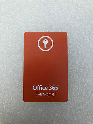 AU77.53 • Buy Microsoft Office 365 Personal - Product Key Card (EU LICENSE ONLY)