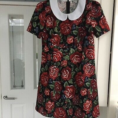 Ladies Beautiful Hearts And Bows Dress Size 8 • 4.99£