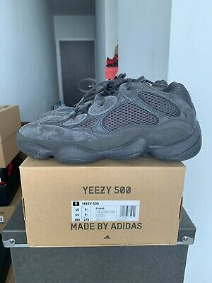 $ CDN500 • Buy Adidas Yeezy 500 Utility Black Size 10 Pre-Owned Worn 1x