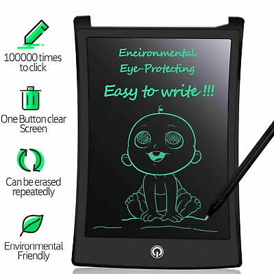 Electronic Digital LCD Writing Pad Tablet Drawing Graphics Board Notepad 8.5  • 5.75£