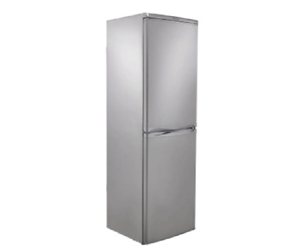 HOTPOINT HBD5517S Freestanding Fridge Freezer 50/50 Split  - Silver • 320£