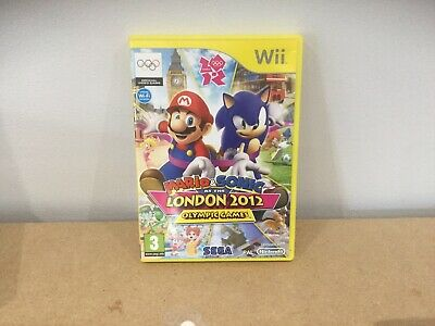 Mario & Sonic At The London 2012 Olympic Games (Nintendo Wii) - Game FREE P&P • 8.99£