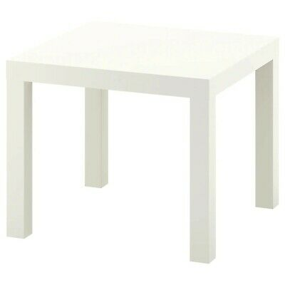 Ikea Lack Side Table Coffee, End Display Square Table Small Home Office Stylish • 14.99£