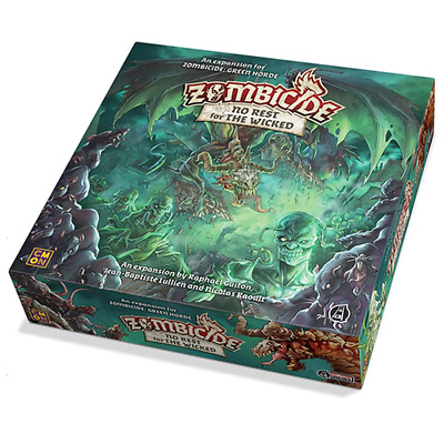 AU84.83 • Buy Zombicide Green Horde No Rest For The Wicked Board Game