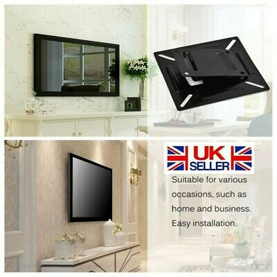 "Household Office Monitor TV Wall Bracket Mount Fr 12-24"" LED LCD TV PC Screen UK • 4.99£"