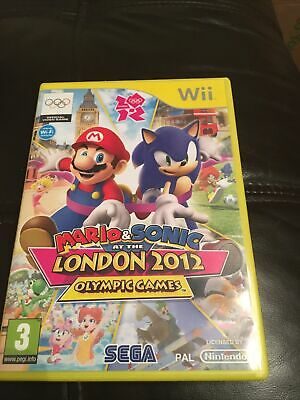 Mario & Sonic At The London 2012 Olympic Games (Nintendo Wii) - Game FREE P&P • 9.90£