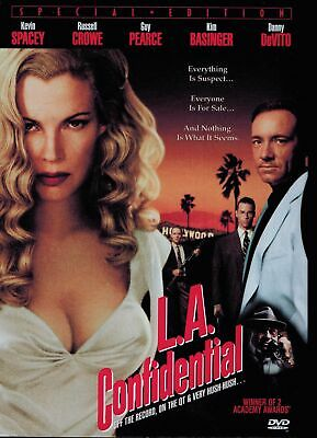 AU13.95 • Buy LA Confidential DVD Kevin Spacey, Russell Crowe R1 + FREE POST