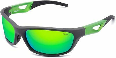 Polarized Sports Sunglasses For Women Men Cycling Running Driving UV Protection • 19.99£