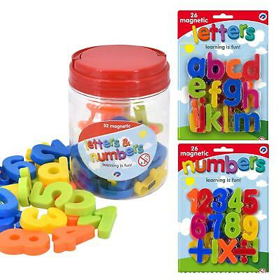 Magnetic Lowercase Letters And Numbers Fridge Magnet Kids Learning Toy • 5.88£