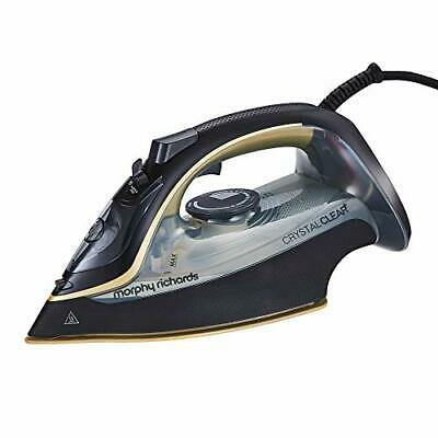 Morphy Richards 300302 Steam Iron Crystal Clear Water Tank, 2400 W, Gold • 29.62£