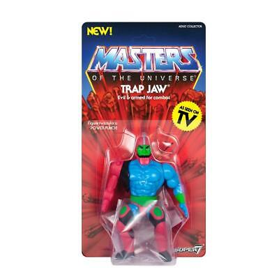 $29.95 • Buy Masters Of The Universe Vintage Trap Jaw MOTU Super7 Filmation MOC