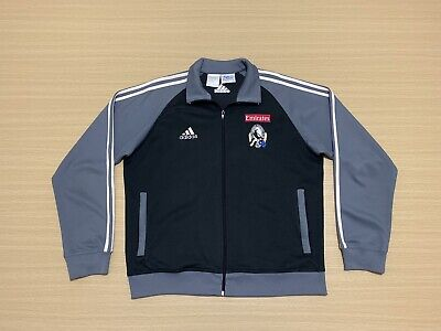 AU179.95 • Buy Adidas Collingwood Magpies Jacket Mens ~ Extra Large ~ Great Cond AFL Team Issue