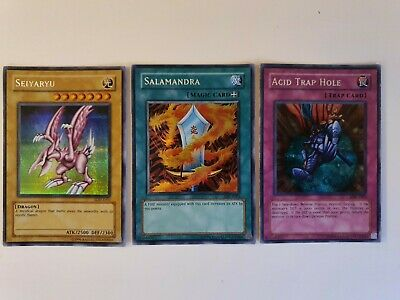 Yu-Gi-Oh! DDS Seiyaryu 3 Card Set Check Picture For Condition • 19.70£
