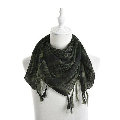 Reliable Cool Arab Shemagh Keffiyeh Military Tactical Palestine Scarf  Shawl Sl • 4.89£