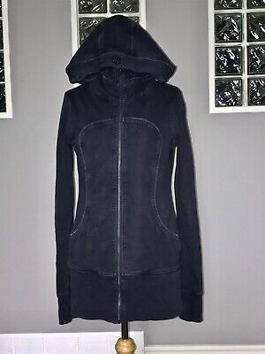 $ CDN60 • Buy Lululemon Live Simply Jacket 10 Black Swan Wear With All Hoodie Tencil Guc