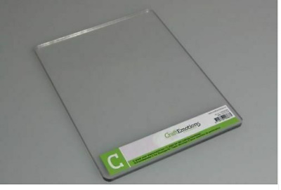 Craft Emotions - Embossing Die- Cutting - C Plate - Single Adaptor For Cuttlebug • 9.20£