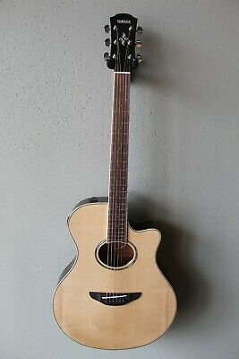 Brand New Yamaha APX600 Acoustic/Electric Guitar With Gig Bag - Natural • 225.78£