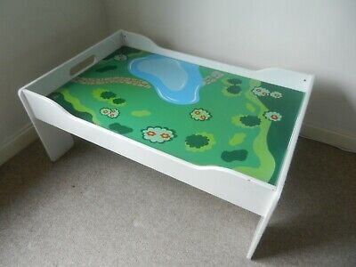 Toys R Us Fab Children's Play Table For Lego Playmobil Trains Good Size Drawers • 50£