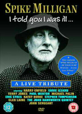 £2.98 • Buy Spike Milligan. I Told You I Was Ill. Live Tribute. NEW SEALED. Dvd. Region Free