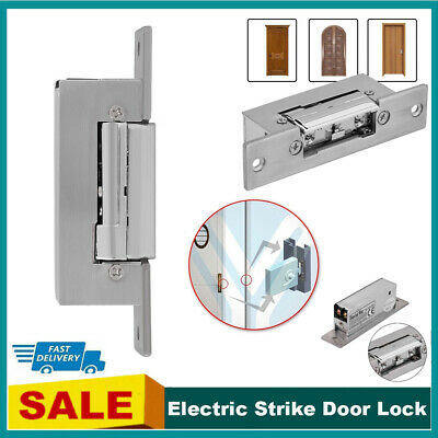 £15.18 • Buy 12V Fail Safe Electric Strike Lock Narrow-type Door For Access Control Durable