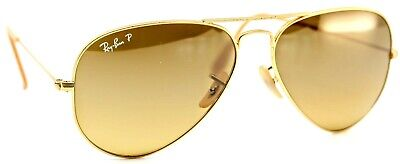 $36.74 • Buy Ray Ban RB3025 112/M2 Aviator Large Metal Sunglasses FRAME ONLY 58-14-135 3P #48