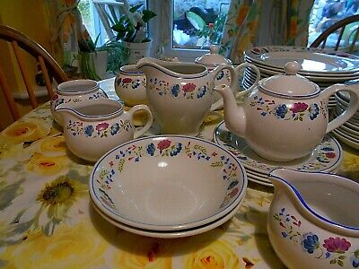 £11 • Buy Various BHS Priory-various (1980s) 4 Dinner Plates£25 4 Side Plates £18 Etc