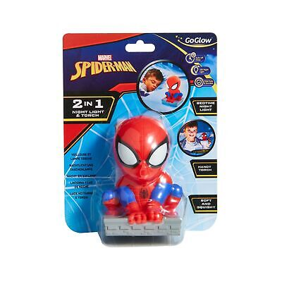 £12.96 • Buy GoGlow Spider-Man Buddy Night Light And Torch, Red