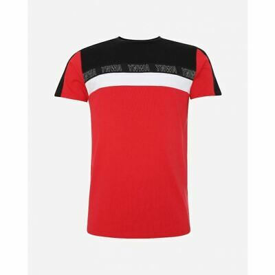 Liverpool FC Mens YNWA Red Colour Block T-Shirt LFC Official • 22£