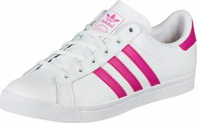 Uk Size 3.5 - Adidas Originals Court Star Leather Trainers - Ee7464 • 30£