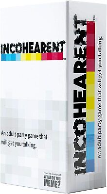 AU36.49 • Buy What Do You Meme? Incohearent Hilarious Funny Adult Party Card Game Play Toy