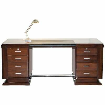 £10000 • Buy Very Fine Art Deco Rosewood Desk Bought From Galerie Jacques Lacoste Paris