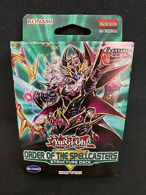 Order Of The Spellcasters Structure Deck - Yu-Gi-Oh Konami  (Genuine Sealed) • 12.55£