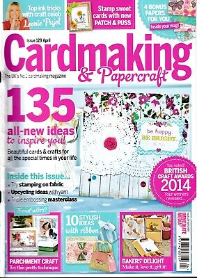 £3.25 • Buy Card Making & Papercraft Mag #129~NO Free Gifts~4 Bonus Papers~Parchment Craft