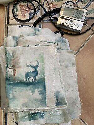 Voyage Fabric Remnants 1kg Country Crafts Bundle Wilderness Highland Stag Forest • 25£