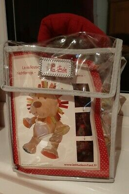 Baby Night Light - Plush Toy - Lion - BRAND NEW - Christmas Gift For A Baby • 12.99£
