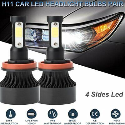 AU24.09 • Buy Pair H9 H11 Osram LED Headlight Kit High Low Beam For Toyota Hilux Ford Falcon