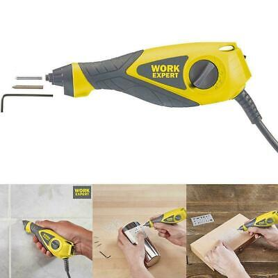 Work Expert Electric Tile Grout Removal Tool Kit Engraving Set Hot 1 Sale U3D1 • 11.99£
