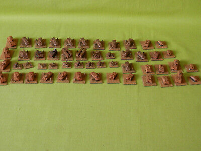 Wargames 6mm Vehicles /army Modern Warfare - 50 X Painted Metal Models • 70£