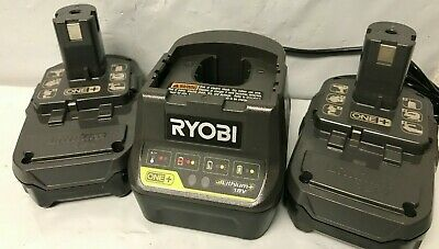 Ryobi P189-P118B 18-Volt ONE+ 1.5Ah Compact Lithium-Ion Battery & CHARGER, N • 48.70£