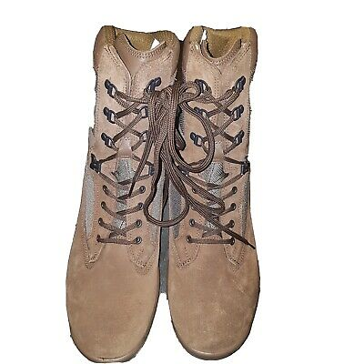 BRITISH ARMY Size 12 M YDS FALCON DESERT SUEDE BROWN BOOTS  NEW BOOTS  • 34.99£