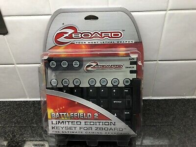Battlefield 2 Limited Edition Gaming Keyset For Zboard Boxed New • 28.50£