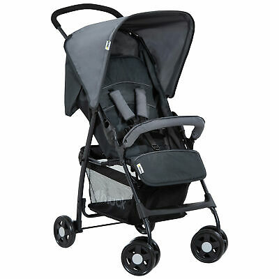 Hauck Sport Buggy Pushchair Stroller Charcoal Stone • 54£