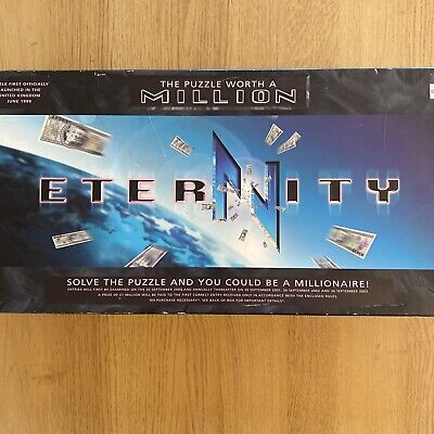 £7.50 • Buy Eternity The Puzzle Worth A Million Board Game