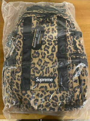 $ CDN213.53 • Buy Supreme FW20 Leopard Print Backpack Brand New With Tags