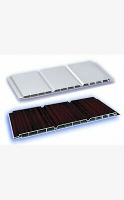 10 X 2.5 M Length X 300mm Thickness Hollow Soffit Board • 45£