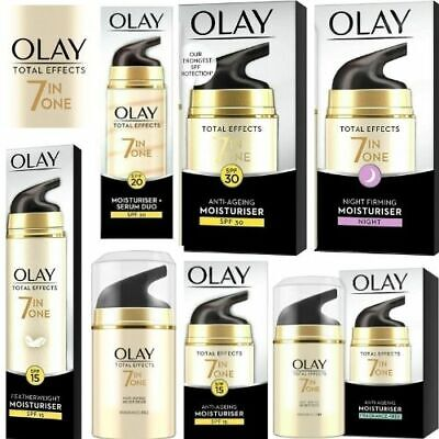 £9.99 • Buy OLAY Total Effects 7 In ONE Anti-Ageing Moisturiser-SPF, NIGHT, FRAGRANCE FREE