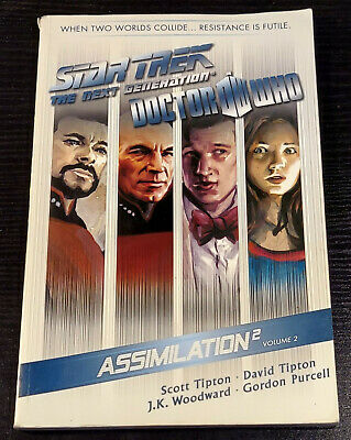 Star Trek Next Generation Doctor Who Assimilation 2 Volume 2  Idw 2013 Tpb Tp Gn • 36.11£