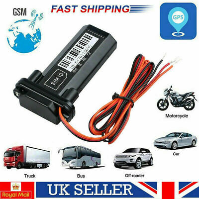 Mini Car Vehicle GPS Tracker Locator Tracking System Device Motorbike Waterproof • 12.99£